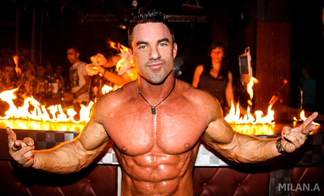 Stripteaseur Genève Gary Suisse