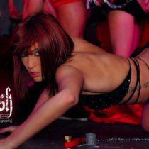 Stripteaseuse Cyane Lausanne