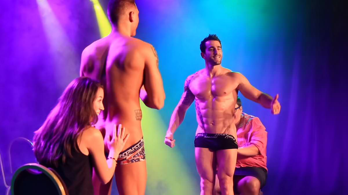 Spectacle Chippendales Lausanne